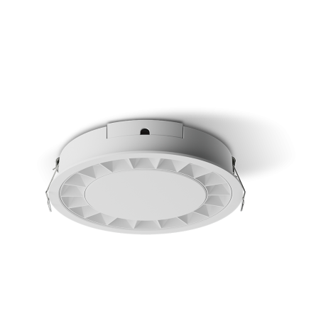 Spot LED rotund incastrabil LM-XD006-24W-WH+WH