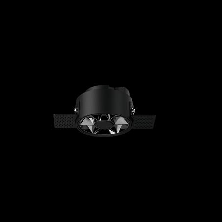 Spot LED rotund incastrabil fără sudură LM-XT006-7W-BK+DB