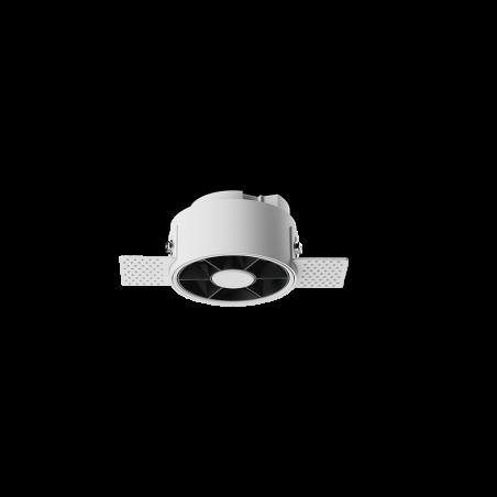 Spot LED rotund incastrabil fără sudură LM-XT006-7W-WH+BK