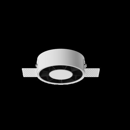 Spot LED rotund incastrabil fără sudură LM-XT006-12W-WH+BK