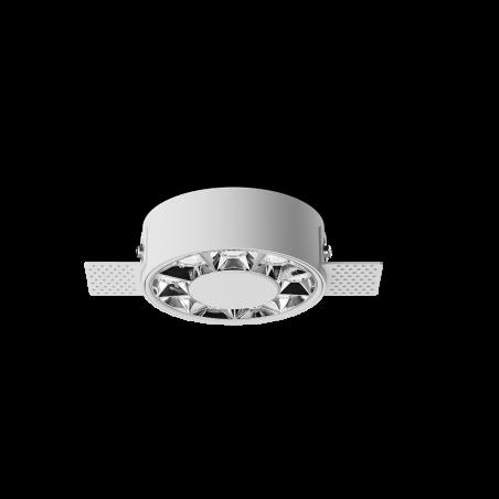 Spot LED rotund incastrabil fără sudură LM-XT006-12W-WH+CH