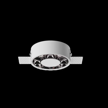 Spot LED rotund incastrabil fără sudură LM-XT006-12W-WH+DB