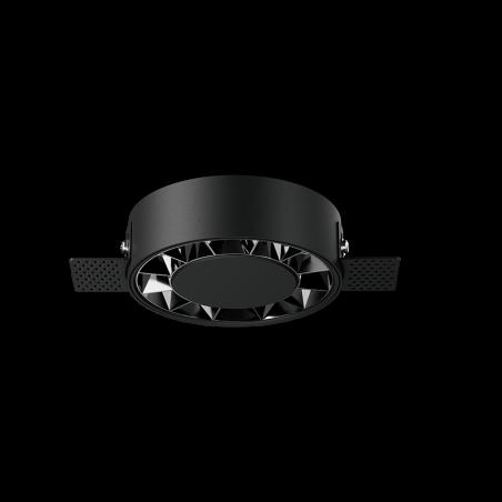 Spot LED rotund incastrabil fără sudură LM-XT006-18W-BK+DB