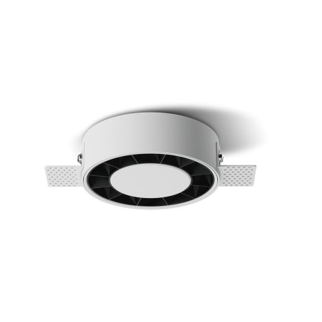 Spot LED rotund incastrabil fără sudură LM-XT006-18W-WH+BK