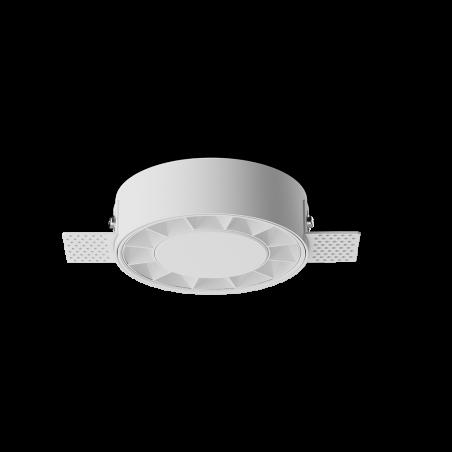 Spot LED rotund incastrabil fără sudură LM-XT006-18W-WH+WH