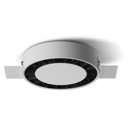Spot LED rotund incastrabil fără sudură LM-XT006-24W-WH+BK