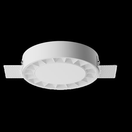 Spot LED rotund incastrabil fără sudură LM-XT006-24W-WH+WH