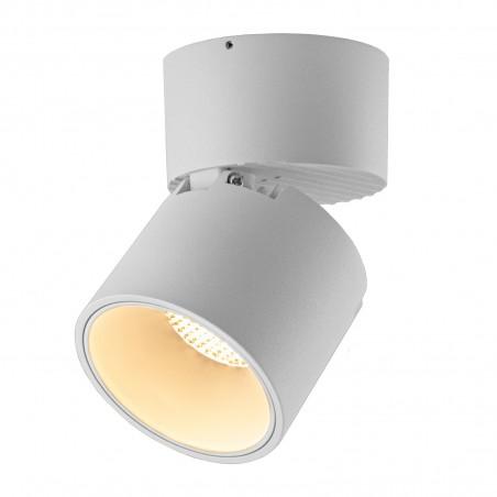 Spot LED 12W, 1368lm - 50 000 ore, cilindru orientabil aplicat, LED Market, LM-109, Corp Alb
