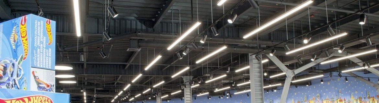 Iluminare comercială| LED Market